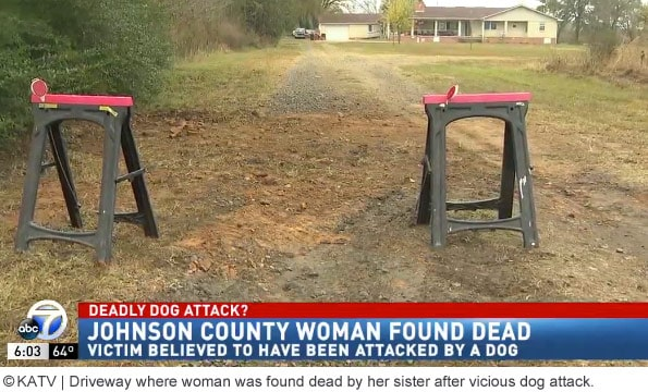 Johnson county woman mauled to death by dogs