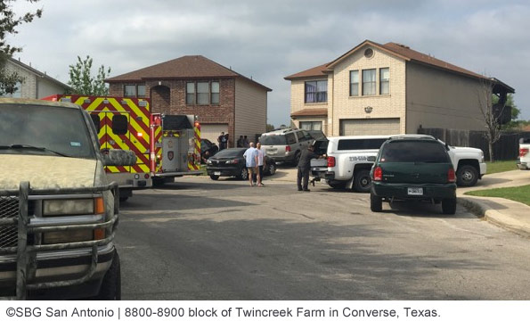 location of fatal dog attack in Converse bexar county