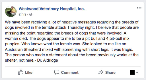 Dr. Douglas Aldridge statement
