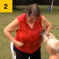 Worst Ice Bucket Challenge, pit bull attacks grandmother