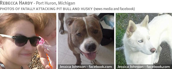 Fatal pit bull attack - Rebecca Hardy