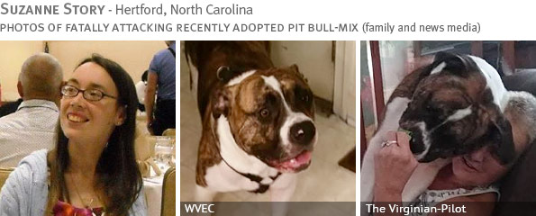 Fatal pit bull-mix attack - Suzanne Story