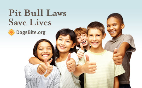 Pit bull and breed-specific laws save lives
