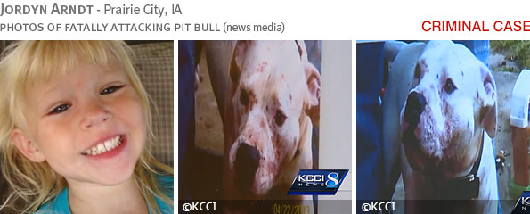 Fatal pit bull attack - Jordyn Arndt photo