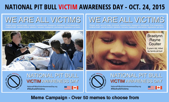 Meme campaign, National Pit Bull Victim Awareness Day