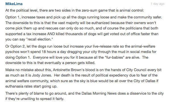 dallas fatal dog attack
